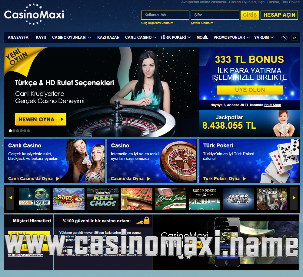 Casino Maxi Yeni Adres CasinoMaxi10