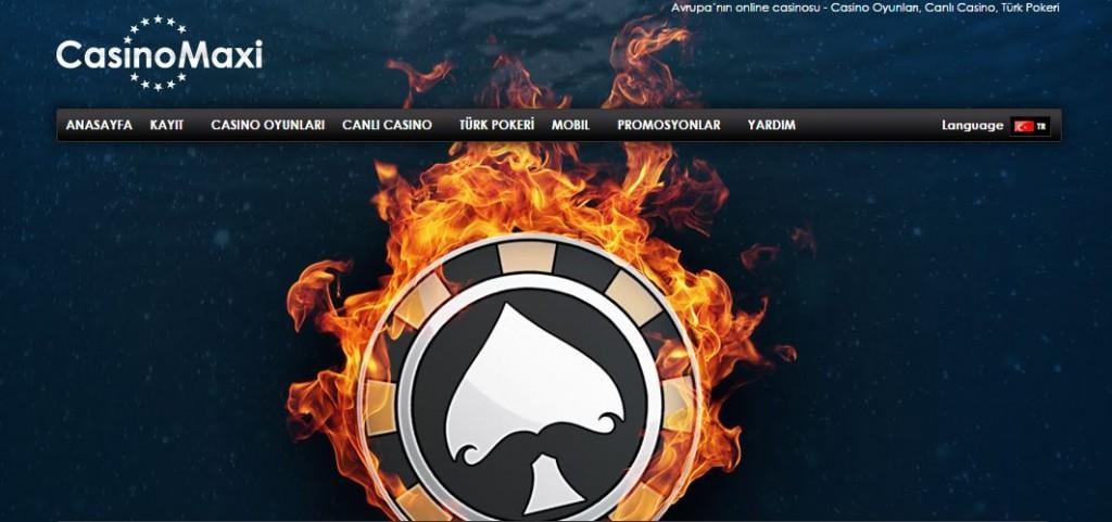Casinomaxi 300 TL Türk Pokeri Bonusu